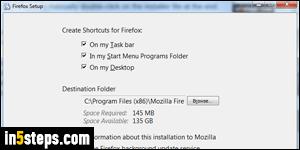 Download + install Mozilla Firefox on Windows 7 / 8 / 10