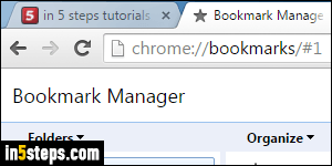 Import Chrome bookmarks into Internet Explorer 11 / 10 / 9