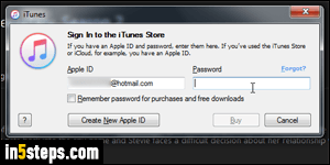 Stop iTunes asking a password every time for purchases