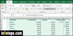 create a budget template in excel 2016 2013 2010