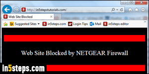 Block access to websites domains with a netgear router block websites with netgear router step 6 ccuart Image collections