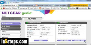 Release and renew your IP address in a Netgear router