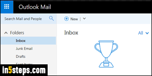 create an outlook email
