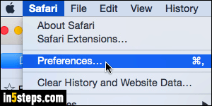 Change where Safari saves downloaded files by default