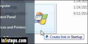 how do you add programs to startup windows 7