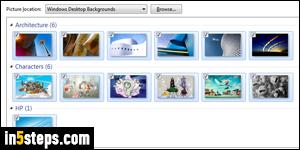Automatically Change Wallpaper In Windows 7 Slideshow