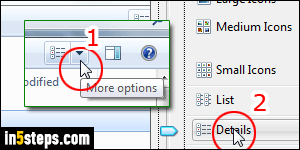 Change icon size on your Windows 7 desktop