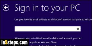 Change your Microsoft account password