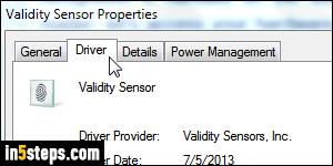 remove fingerprint logon windows 7