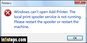 print spooler issues windows 7