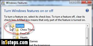 Remove games / folder / start menu in Windows 7 / 8 / 10
