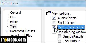 Show seconds in the system clock in Windows 7 / 8 / 10