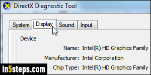 Check which graphics card you have in your Windows PC